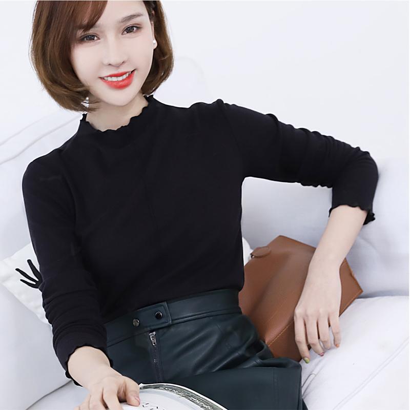 【安希娅】竹纤维+德绒超暖打底单衣S9111