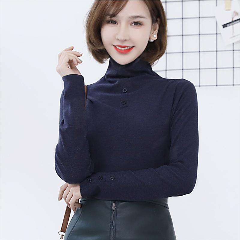 【安希娅】竹纤维+德绒超暖打底单衣S9112
