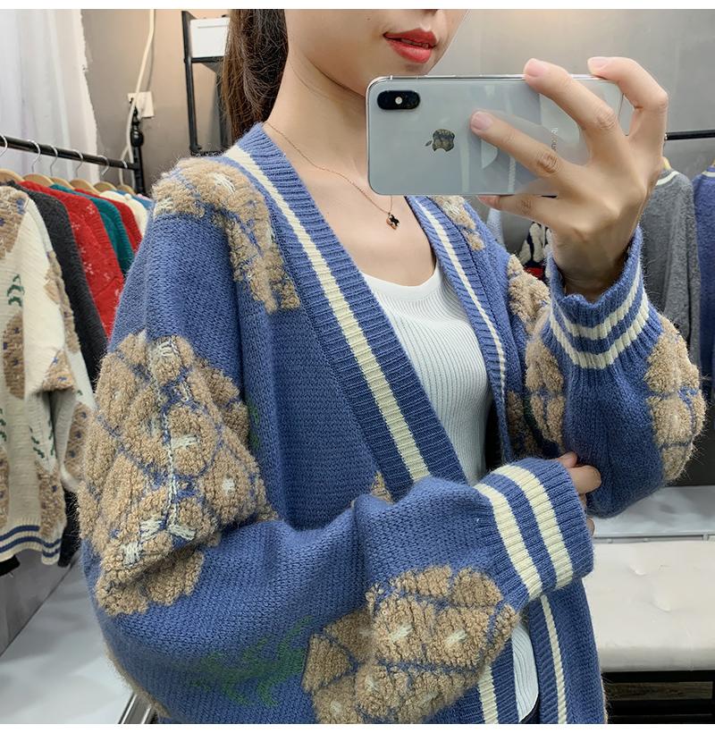 【安希婭】竹纖維毛衫S9132