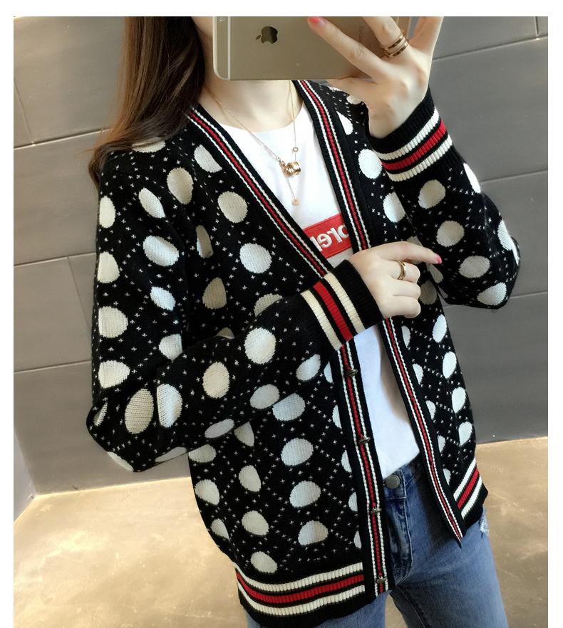 【安希娅】竹纤维毛衫S9137