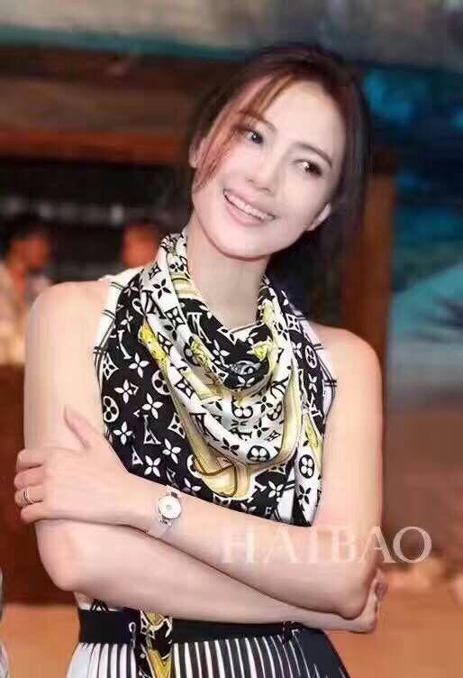 【安希娅】全桑蚕丝围巾W8122